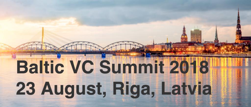 Baltic VC Summit 2018