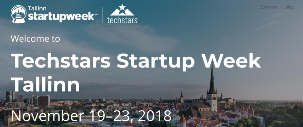 Techstars Startup Week Tallinn