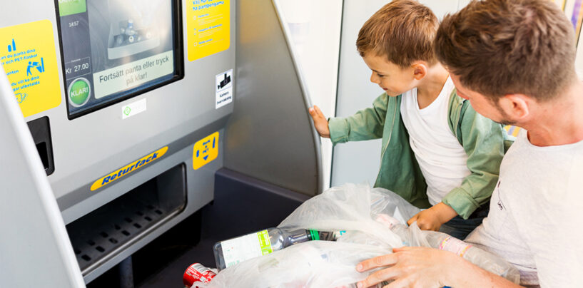 Returpack Selects Payer to Digitise Payouts in Swedish Recycling Scheme