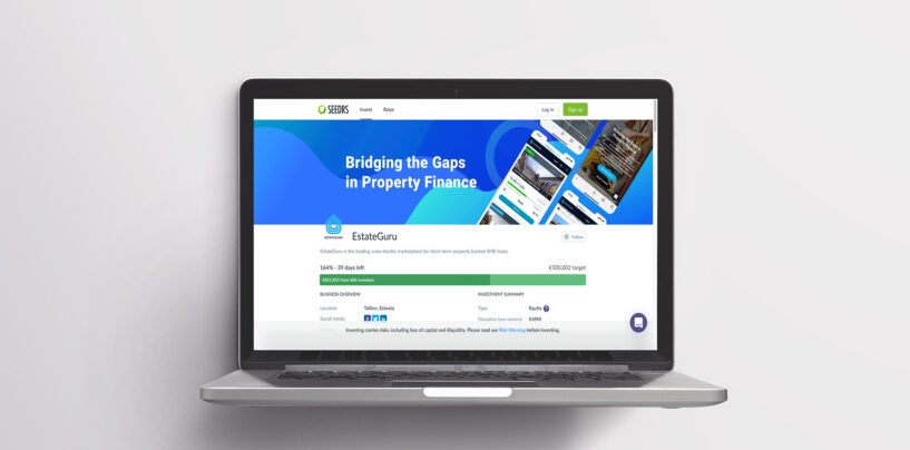 EstateGuru Seeks up to €1 Million in Funds on Crowdfunding Platform Seedrs