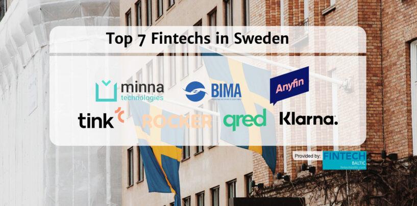 Top 7 Fintechs in Sweden